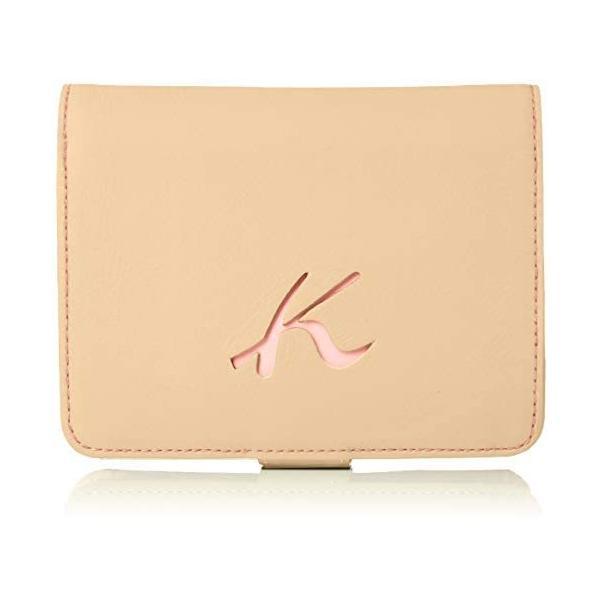 キタムラ 二折財布天然素材独特の風合いPH0334