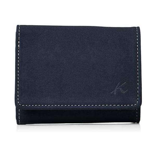 キタムラ 三折財布(札入れ)スエードのような風合いPH0669