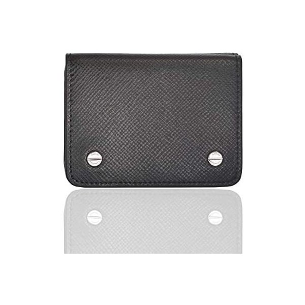 財布メンズ小さい三つ折りブランドコンパクトイタリアンレザー牛革薄型ミニ財布ウォレットジョルノクロフォード