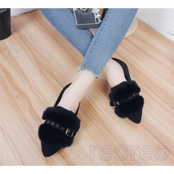 フラットシューズ レディース パンプス ぺたんこ カジュアル シューズ 歩きやすい ローヒール 痛くない 履きやすい 通勤 シンプル 婦人靴