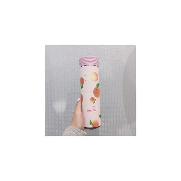 水筒 直飲み ステンレスボトル 水筒 魔法瓶 保温 便利 オシャレ 可愛いGZAH-AL56|yutaka-s|08
