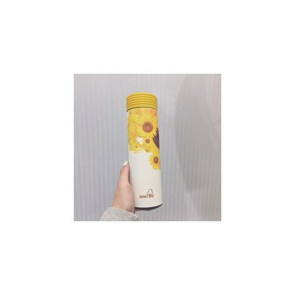 水筒 直飲み ステンレスボトル 水筒 魔法瓶 保温 便利 オシャレ 可愛いGZAH-AL56|yutaka-s|09