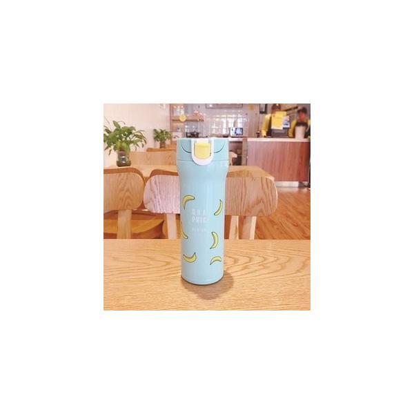 水筒 直飲み ステンレスボトル 水筒 魔法瓶 保温 便利 オシャレ 可愛いGZAH-AL66 yutaka-s 04