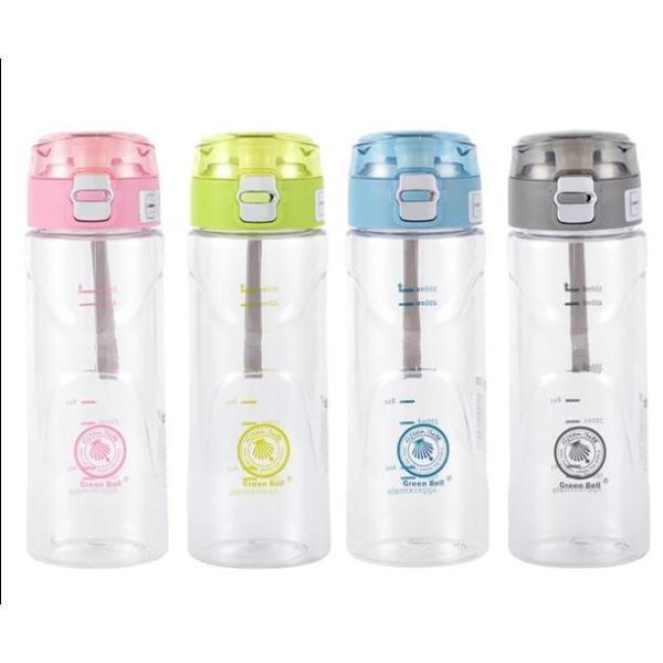 水筒 直飲み プラスチックボトル 水筒 軽い 便利 オシャレ スポーツ 運動GZAH-AL97|yutaka-s