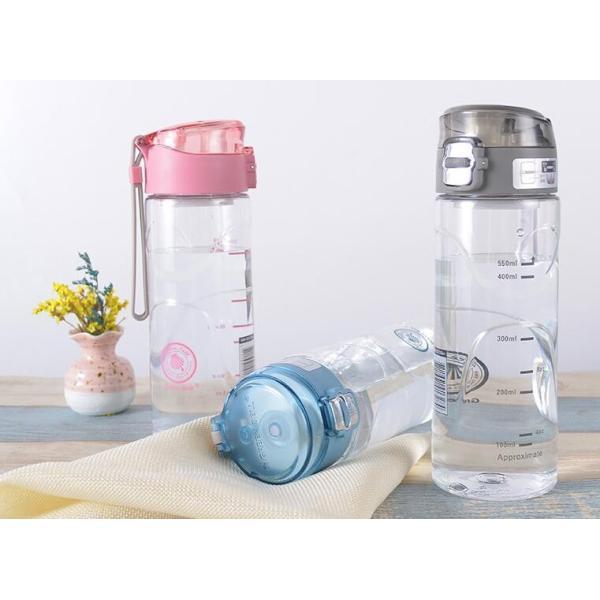 水筒 直飲み プラスチックボトル 水筒 軽い 便利 オシャレ スポーツ 運動GZAH-AL97|yutaka-s|02