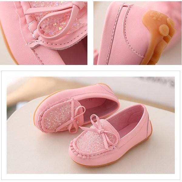 キッズ アウトレット パンプス 女の子 子ども 子供靴 リボン 痛くない ぺたんこ キッズパンプス yutaka-s 03