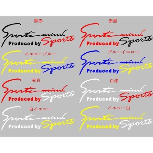 車 ステッカー ポイント消化 条件付き送料無料 ヘッドライトステッカー デカール シール Sport mind(Produced by Sport) 蛍光 反射シール カーステッカー