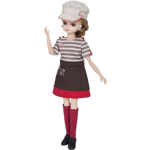 リカちゃん ドレス ミスタードーナツてんいんさんドレス|yutakanaseikatu