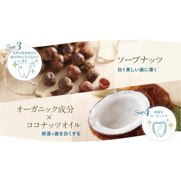 コハルト はははのは ホワイトニングジェル [完全無農薬 10種類のオーガニック成分] 輝く白い歯 歯みがき粉 30g|yutakanaseikatu|05