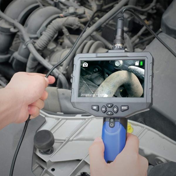 SDカード対応式工業内視鏡 Anykit内視鏡カメラ 4.3インチ大型液晶モニターファイバースコープ 100万画素COMSカメラ搭載エンドス|yutakura|04