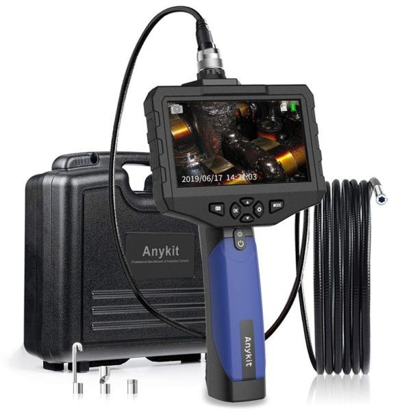 SDカード対応式工業内視鏡 Anykit内視鏡カメラ 4.3インチ大型液晶モニターファイバースコープ 100万画素COMSカメラ搭載エンドス|yutakura|05