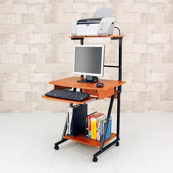 棚付 パソコンデスク PCデスク 70幅  楽天ランキング1位獲得 yutoriplan