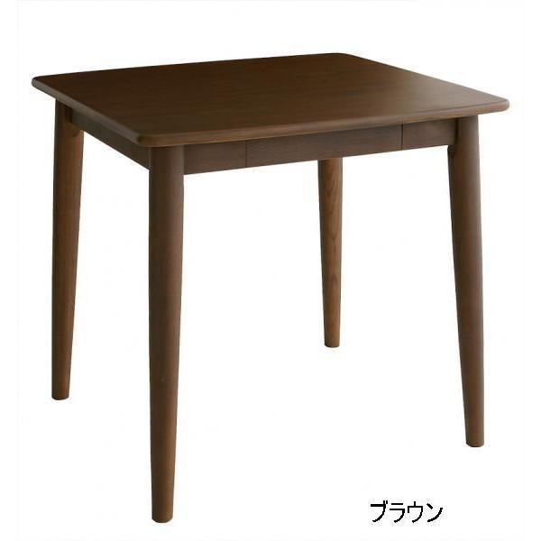 天然木タモ無垢材ダイニングunicaユニカ テーブル幅75  楽天ランキング1位獲得|yutoriplan|03