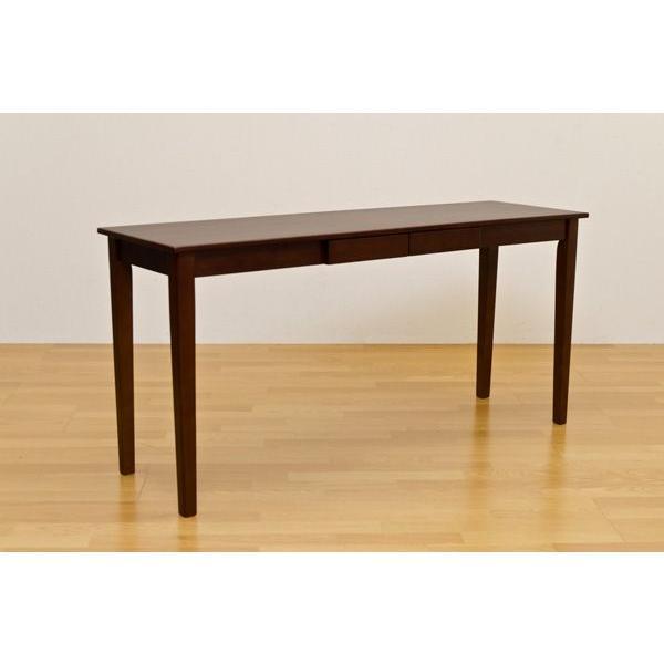 木製引出し付テーブル 150×45cm   楽天ランキング1位獲得|yutoriplan|02