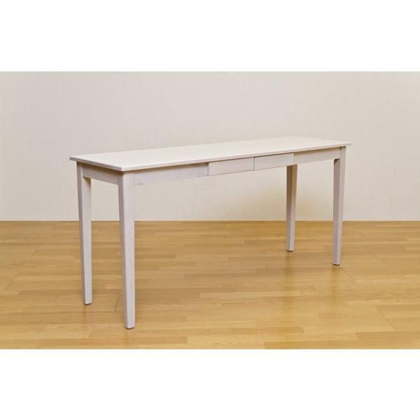 木製引出し付テーブル 150×45cm   楽天ランキング1位獲得|yutoriplan|04