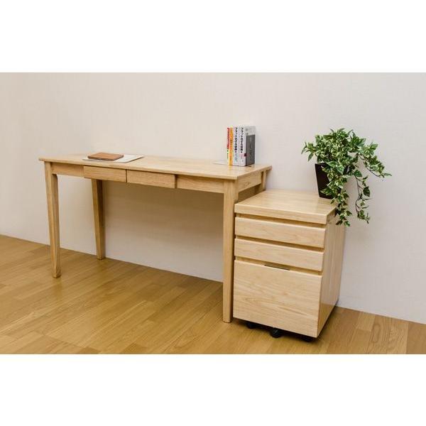 木製引出し付テーブル 150×45cm   楽天ランキング1位獲得|yutoriplan|06