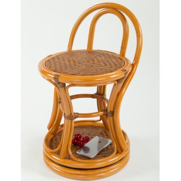 ラタン 回転スツール ST08 4761 スツール いす イス 椅子 カウンターチェア パーソナルチェア 完成品 回転 スツール ラタン 籐 ドレッサー ベッドサイド