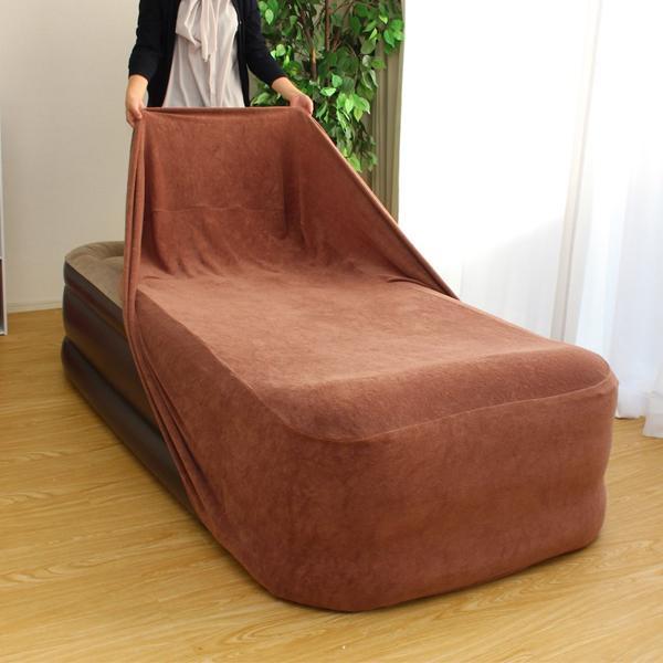 エアーベッド用カバー ワイド 9924 エアーベッド ボックスシーツ 簡単 寝具
