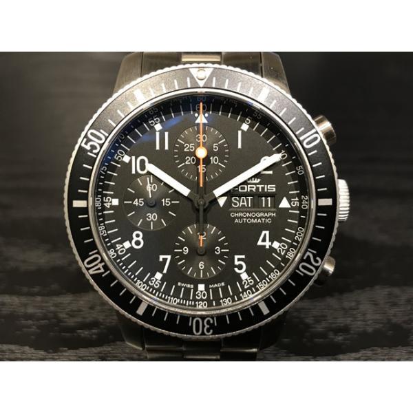 de38f432f0 フォルティス 腕時計 フォルティス FORTIS Officail Cosmonauts Chronograph オフィシャル・コスモノート・ クロノグラフ 42mm Ref