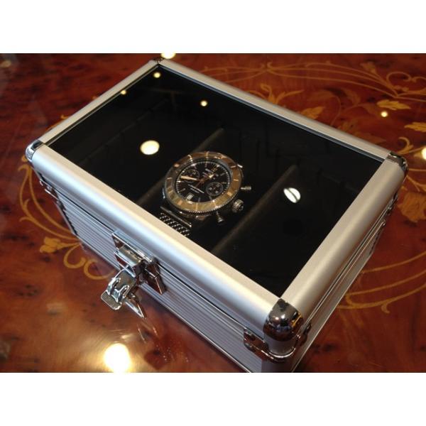 esprima エスプリマ 3本用 アルミ製 時計 収納 ウォッチ ケース yuubido-oyabu 04