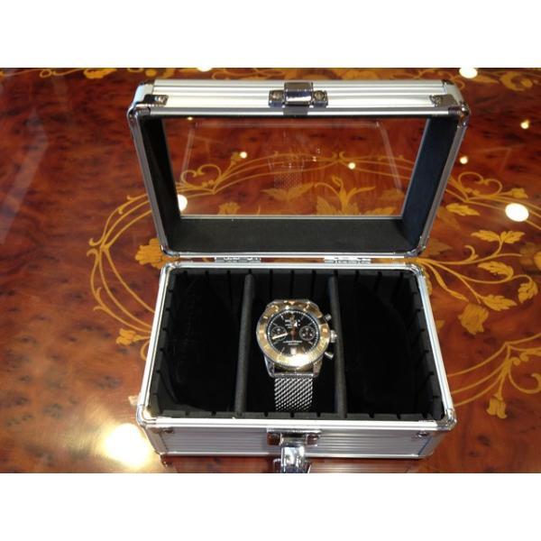 esprima エスプリマ 3本用 アルミ製 時計 収納 ウォッチ ケース yuubido-oyabu 06