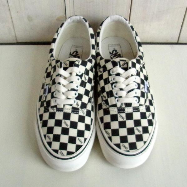 VANS OG Era LX(Canvas)Checkerboard Black Vault チェッカー