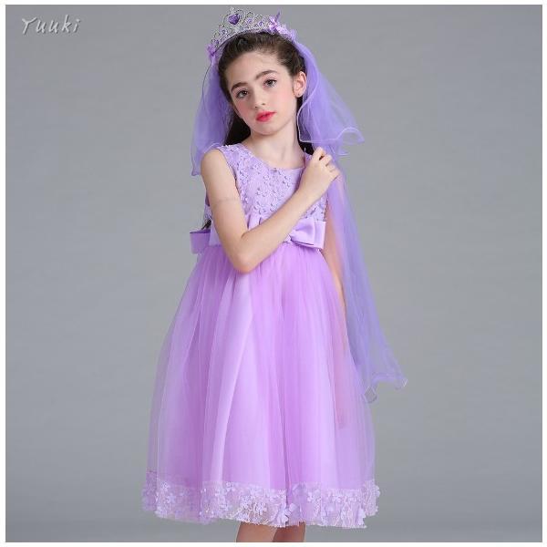 子どもドレス ジュニアドレス フォーマル用 ピアノ発表会 子供ドレス 結婚式 女の子 ドレスキッズワンピース100 110 120 130 140cm|yuuki-store|11