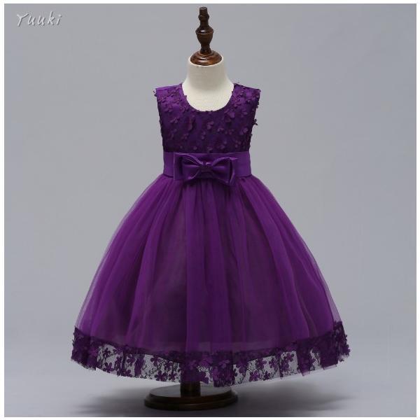 子どもドレス ジュニアドレス フォーマル用 ピアノ発表会 子供ドレス 結婚式 女の子 ドレスキッズワンピース100 110 120 130 140cm|yuuki-store|05