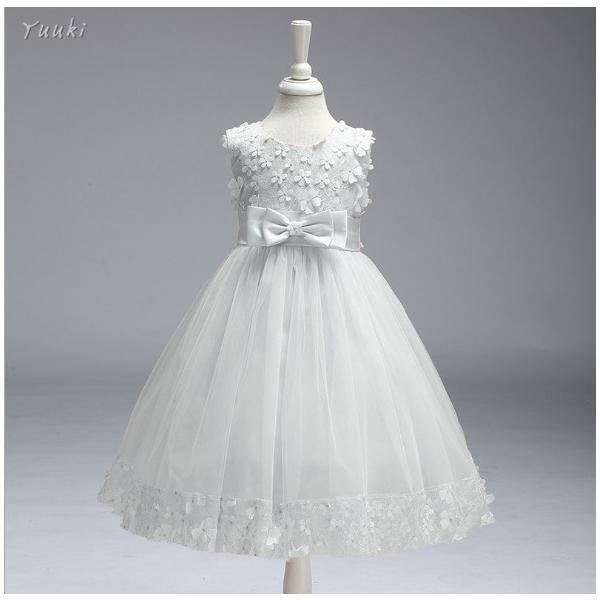 子どもドレス ジュニアドレス フォーマル用 ピアノ発表会 子供ドレス 結婚式 女の子 ドレスキッズワンピース100 110 120 130 140cm|yuuki-store|07