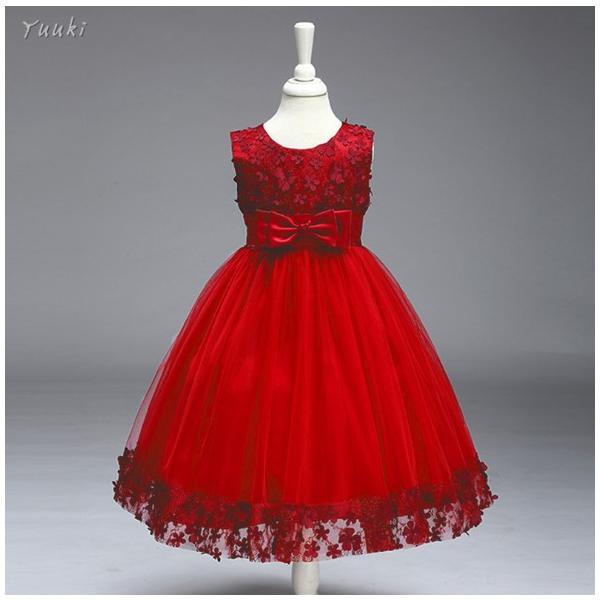 子どもドレス ジュニアドレス フォーマル用 ピアノ発表会 子供ドレス 結婚式 女の子 ドレスキッズワンピース100 110 120 130 140cm|yuuki-store|08