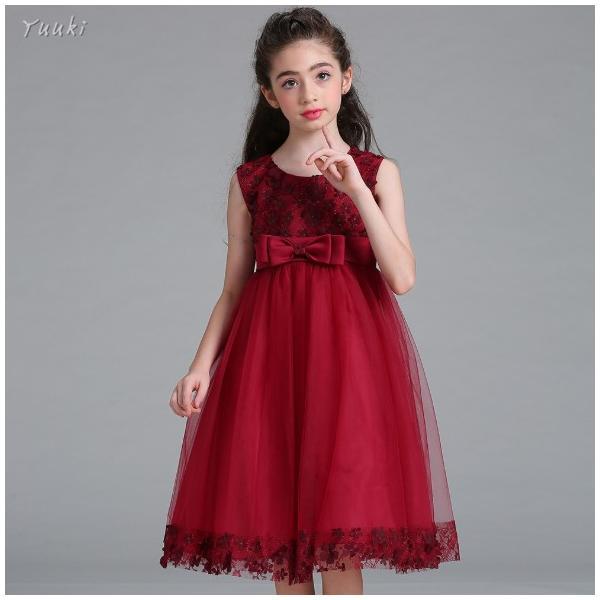 子どもドレス ジュニアドレス フォーマル用 ピアノ発表会 子供ドレス 結婚式 女の子 ドレスキッズワンピース100 110 120 130 140cm|yuuki-store|10