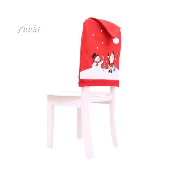 クリスマス 椅子 背もたれ カバー トナカイ お手洗い クリスマス 椅子カバー 椅子カバー チェアカバー 装飾 サンタ 雪だるま 2018新作 飾り yuuki-store 04