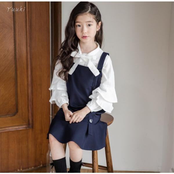 7dfa1390a1cd3 ... 入学式 子供 2点セット ワンピース 女の子 スーツ 卒園式 ドレス フォーマル ワンピース 女児 ...