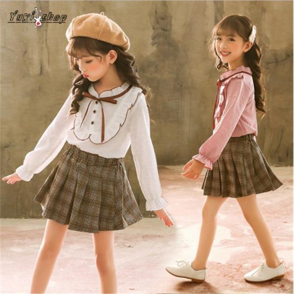 70d8934d0f641 子供 2点セット ワンピース 女の子 スーツ 卒園式 ドレス フォーマル ワンピース 女児 ジュニア 冬 ...
