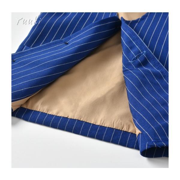 子供スーツ 男の子 上下セット  ベビー スーツ 4点セット シャツ/パンツ子供 スーツ  タキシード風 80 ~130cmボーイズ 英国風 発表会 七五三 お宮参り スーツ|yuuki-store|10