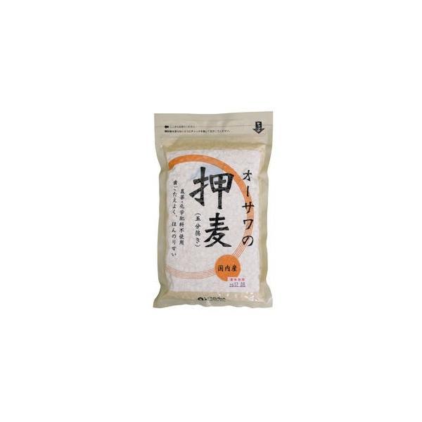 無農薬オーサワの押麦(五分挽き)300g