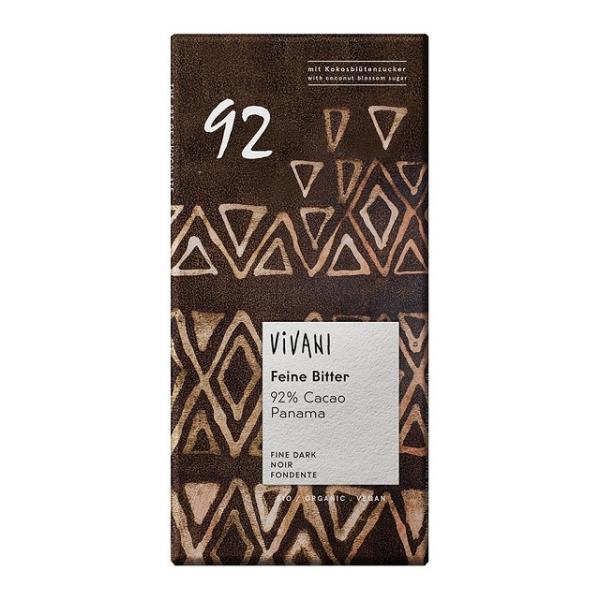 ViVANI オーガニック エキストラダークチョコレート 92% 80g