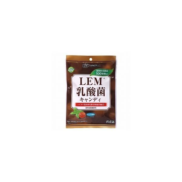 のどスッキリキャンディー LEM乳酸菌キャンディ 63g(個包装込み)★LEM(シイタケ菌糸体培養培地抽出物)