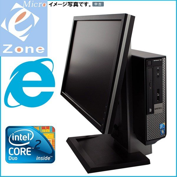 Windows 10 DELL 送料無料 省スペース ミニデスクPC Office2016 Intel Core 2 Duo-2.93GHz 2GB 160GB OptiPlex 780 USD|yuukou-store|02