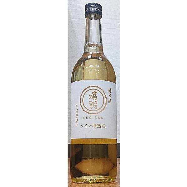 積善 せきぜん 純米酒 ワイン樽熟成 金木犀の花酵母 720ml 西飯田酒造店 長野県 日本酒