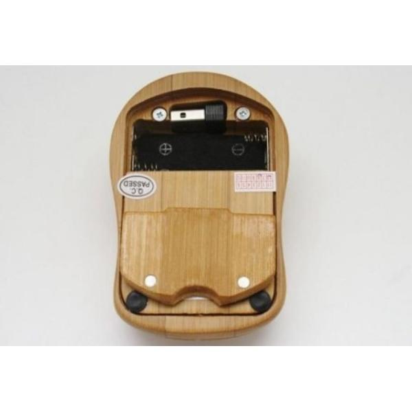 全国送料無料 パソコン PC キーボード 手作りスマート ハイテク天然竹木製 PC ワイヤレス 2.4 GHz キーボードとマウスのコンボ yuuuuuu26 03