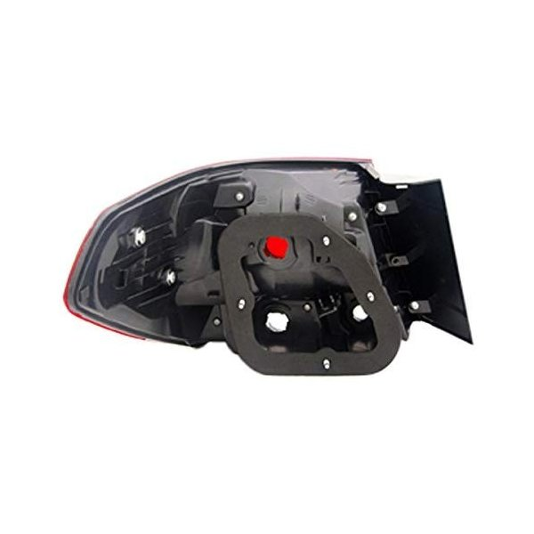 NSF Certified Depo 315-1943L-DF Nissan Xterra Driver Side Replacement Taillight Assembly
