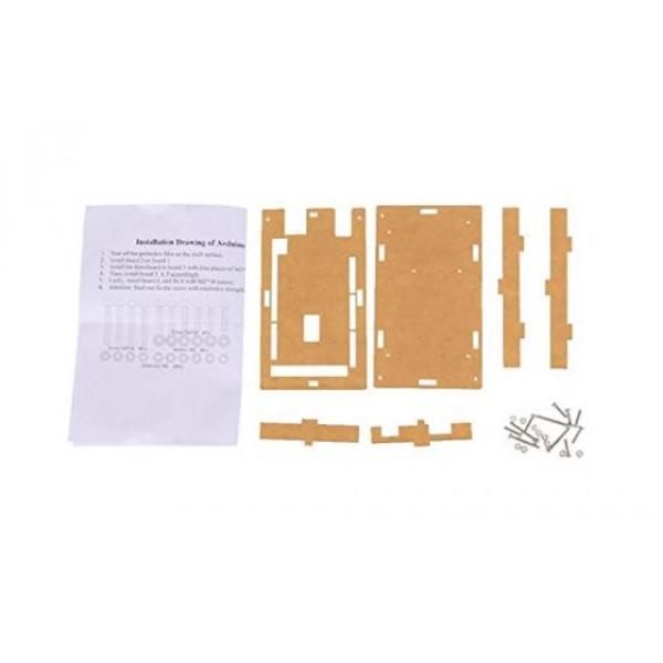 全国送料無料 パソコン PC PCケース Arduino Mega2560 オフ Corpco ポート アクセスがアクリルの保護ケース|yuuuuuu26|03
