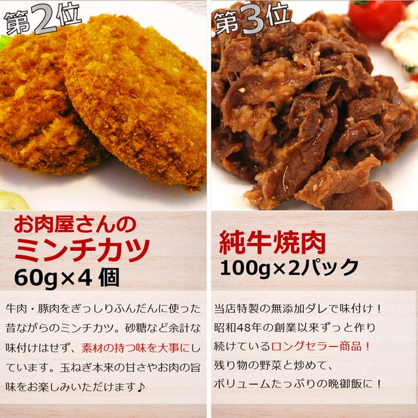 肉 惣菜 セット 冷凍 無添加 年間ベストヒットまるごとセット ハンバーグ 一人暮らし グルメ お取り寄せ 詰め合わせ お試し|yuuzen-hb|05