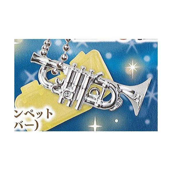 キラメッキ楽器 # 10 10:トランペット(シルバー) エポック社 ミニチュア ガチャポン ガチャガチャ ガシャポン