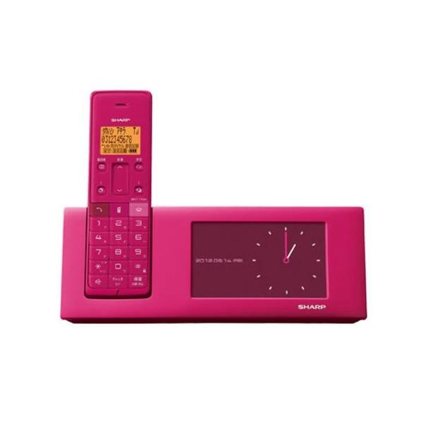 RoomClip商品情報 - シャープ 電話機 インテリアホン JD-4C2CL-P [ピンク系]