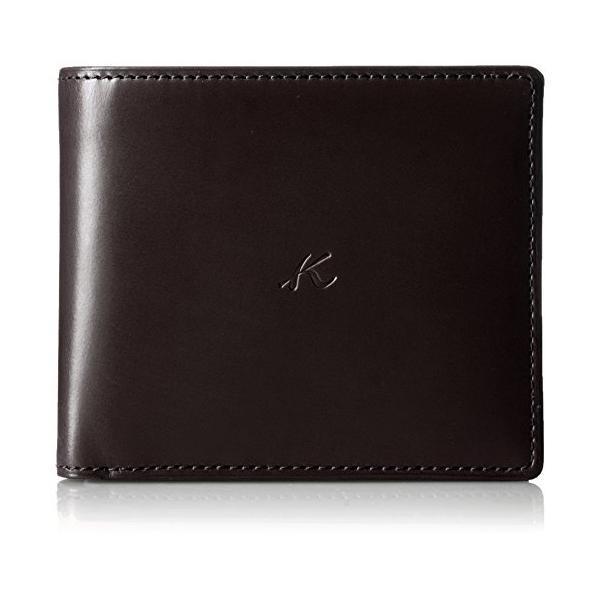 キタムラ 財布二折財布RH0468チョコ 茶色 62622