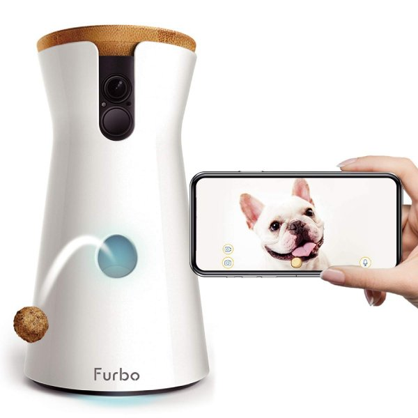 Furbo ドッグカメラ 飛び出すおやつ 2Wayオーディオ iOS Android対応 001-01WHTOA-1 配送種別A|ywelfare