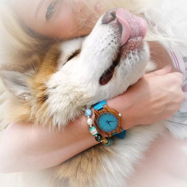 腕時計 ボボ鳥 ストラップ木製腕時計 メンズ レディース クォーツ時計 ユニセックス