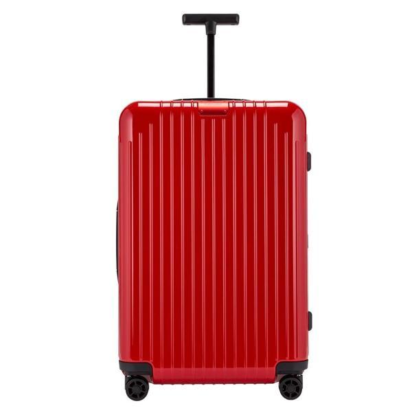 リモワ RIMOWA Newモデル エッセンシャル ライト 82363654 チェックイン M 59L 4輪 スーツケース グロスレッド